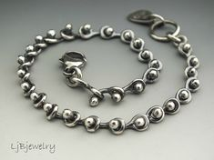 Pulsera pulsera pulsera de eslabones amontonamiento por LjBjewelry