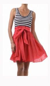 skirt and stripes