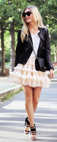 Ruffle Accent Outfit