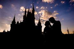 The most magical silhouette of Disney's Magic Kingdom. Photo: Daniel at Disney Fine Art Photography