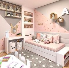 Want to Present the Greatest Girl& Bedroom for Your Daughter? The girls bedroom is her castle. Now getting time to talk a strategy to come up with the wonderful room theme. Here are the girl's bedroom ideas for you. Bedroom Wall Colors, Bedroom Themes, Bedroom Yellow, Yellow Walls, White Walls, Girls Bedroom Colors, Bedroom Styles, Girl Bedroom Designs, Design Bedroom