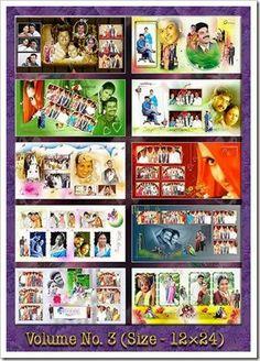 Create Wedding Album: Super Hit Indian Wedding Templates Vol-3 and 4 PSD...