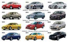 Mitsubishi Lancer Evolution Generations