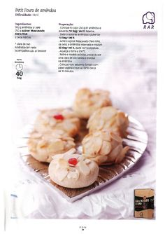 Revista bimby 11 Low Fodmap, Camembert Cheese, Dairy, Snacks, Food, Wafer Cookies, Sweets, Illustrated Recipe, Recipe Journal