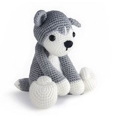 Zoomigurumi Nanook the husky pattern