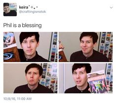 What did we do to deserve Phil Lester, an actual angel