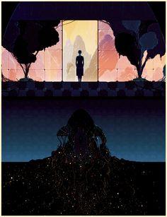 Natural Sci-Fi Illustrations by Kilian Eng | The Dancing Rest http://thedancingrest.com/2014/11/18/natural-sci-fi-illustrations-by-kilian-eng/