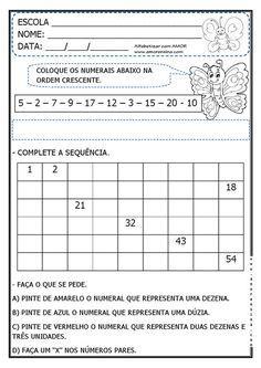 Imagem Relacionada Atividades De Matematica Atividades De