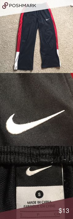 Nike sweat pants/joggers Good used condition size small. Feel free to make an offer! Nike Pants Sweatpants & Joggers
