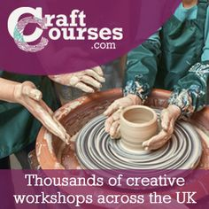 Creative, craft and artisan courses and workshops Pottery Workshop, Pottery Studio, Pottery Courses, Clay Studio, Experience Gifts, Creative Workshop, Art Courses, Mold Making, Artisan