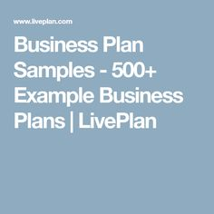 Pizzeria franchise business plan sample executive summary bplans business plan samples 500 example business plans liveplan accmission Gallery