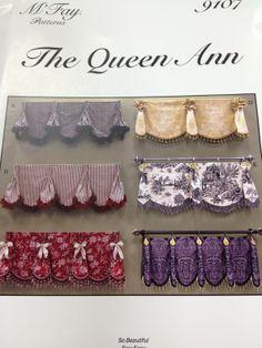 M'Fay Pattern 9107 Queen Ann Valance by TheInteriorsWorkroom, $23.99