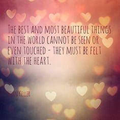 Quote of the week - Helen Keller | Oh Everything Handmade