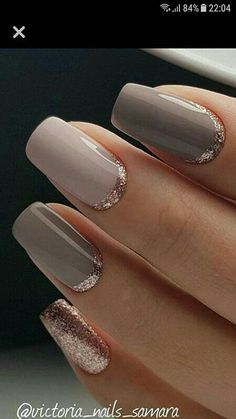 Nails shellac Super Nails Shellac Gold Nailart Ideas Super Nails Shellac Gold Nailart Ideas Kunst Nägel Schellack Go Elegant Nail Designs, Elegant Nails, Stylish Nails, Trendy Nails, Gold Manicure, Rose Gold Nails, Gel Nails, Acrylic Nails, Black Nails