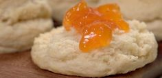 Two-Ingredient Biscuits...or if you don't have self-rising flour, use 1 cup flour, 1-1/2 tsp baking powder, & 1/2 tsp salt
