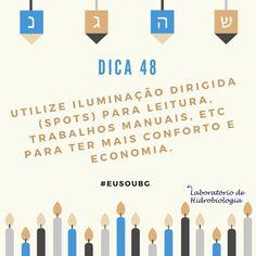 Além de tornar o ambiente mais agradável esse tipo de iluminação consome menos do que a tradicional luz central. #baiadeguanabara #labhidroufrj #ufrj #riodejaneiro #errejota #agua #analisedeagua #luz #conforto #economia