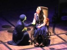 Wicked Act 1 - Megan Hilty as Glinda and Eden Espinosa as Elphaba - So cool to see entire show! :)