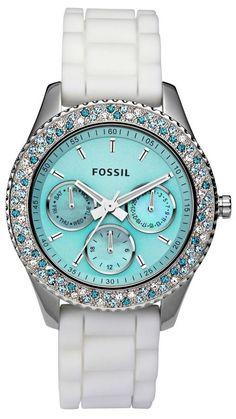 White and Tiffany Blue. Pretty!