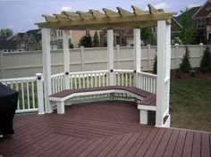 Image result for hexagonal deck designs