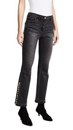 SJYP Detailed Flare Jeans Moda Vaquera e9c7561a65df