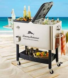 tommy bahama cooler with rolling base beverage tubs coolers outdoor - Tommy Bahama Chairs Beach