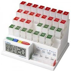 Pill Organizer – Great Care for the Elderly