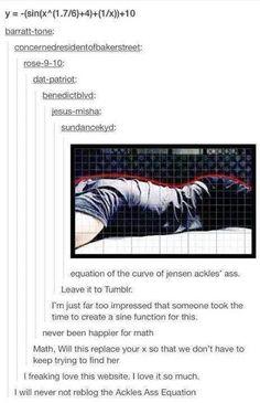 Jensen's ass
