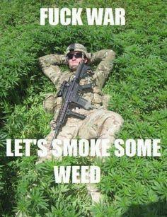 Makes U Kinda Peaceful -- Reasons Smoking Weed Is Good For You |