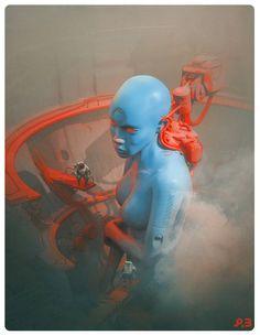 NEXUS 9, Pascal Blanché on ArtStation at https://www.artstation.com/artwork/PVokr