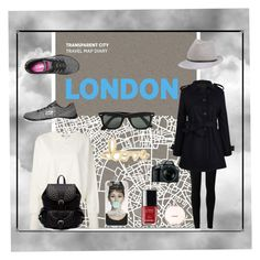 London by suky on Polyvore featuring polyvore, fashion, style, Y-3, Max Studio, Skechers, Sydney Evan, Brunello Cucinelli, Palomar, Ray-Ban, Chanel, Nikon and clothing