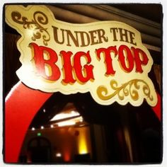 Under the Big Top Old World Circus Fundraiser Party Ideas | Photo 5 of 19 | Catch My Party
