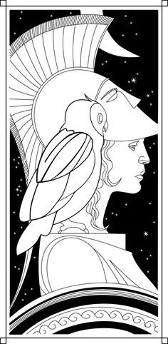Athena as featured in Watchmen / print / tattoo?