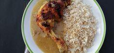 omlós zamatos sült csirkecomb Grains, Rice, Food, Essen, Meals, Seeds, Yemek, Laughter, Jim Rice
