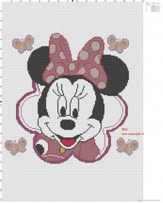 Minnie Mouse coussin