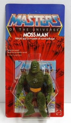 he man and the masters of the universe toys | Moss Man He-Man Masters of the Universe MOC C-8.5+