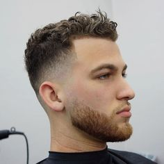 Fade Haircuts For White Guys Men S Curly Hairstyles Mens 25 Curly Fade Haircuts For Men Manly Semi Fro Hairstyles Wavy Curly Hair Fade 2020 Guide Haircut For Wh Male Haircuts Curly, Haircuts For Men, Short Haircuts, Popular Haircuts, White Guy Haircuts, Curly Hair Cuts, Curly Hair Styles, New Men Hairstyles, Medium Hairstyles
