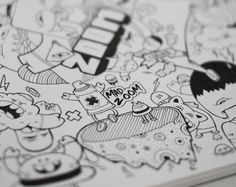 Mad Zoom by Gunnar Frigaard, via Behance Markers, Mad, Behance, Drawings, Sharpies, Marker, Sketch, Portrait, Sharpie Markers