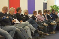 Veel belangstelling voor de lezingen tijdens de Nationale Vloerendag.