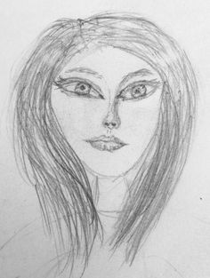 Love drawing people... Love Drawings, Easy Drawings, Female Images, Lady Images, Pencil Tattoo, Drawing Journal, Cat Pee, Cat Urine, Image Cat