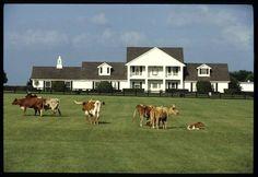 Southfork Ranch.  Where Dallas was filmed.  In Plano, Texas just outside of Dallas.