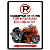 Suzuki Hayabusa Motorcycle Cartoon No Parking Sign http://store.ashifajatiindofurni.com