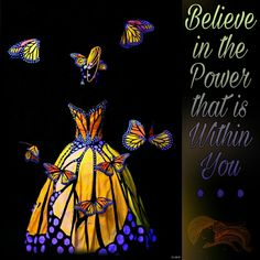 Believe in the Power that is Within You ༺❁༻ [Wearable Art, Photo by DG Images, Flickr]