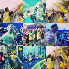 Hi-Fives to all the Heroes of #teamcf @LondonMarathon #lifeunlimited @cftrust #cysticfibrosis@cftrustuk Cystic Fibrosis Trust London England #oneinamillion#cftrust @cysfib #beatcf #cfwarriors  And a big thank you to all the supporters out cheering today and generous sponsors of the runners #cysfib #cysticfibrosis #cftrust