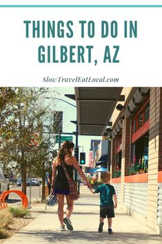 There are many things to do in Gilbert, AZ, just outside of Phoenix. Gilbert's growing downtown attracts visitors looking for a family-friendly home base. Travel With Kids, Travel Usa, Family Travel, Usa Travel Guide, Travel Guides, Budget Travel, Travel Tips, Cool Places To Visit, Places To Go