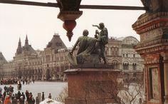 1988 Moskau - Roter Platz, die andere Seite