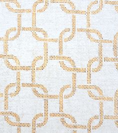 Utility Fabric- Burlap Large Chain Link Gray /via Joann Fabrics (bedroom curtains)