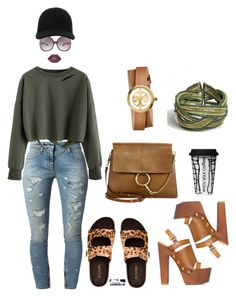 """""""Casually out running errands"""" by theglamcorridor ❤ liked on Polyvore featuring Yves Saint Laurent, Faith Connexion, STELLA McCARTNEY, Lime Crime, Dot & Bo, Chloé, Tory Burch and Oasis"""