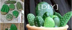 [DIY] Peinture ludique – Bouquet de cactus