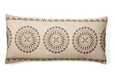 Medallion 14x31 Pillow, Natural