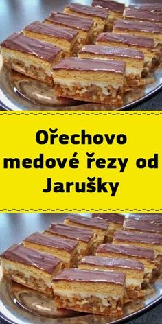 Torte Recepti, Desert Recipes, No Bake Desserts, Yummy Treats, Sweet Recipes, Cheesecake, Food And Drink, Tasty, Sweets